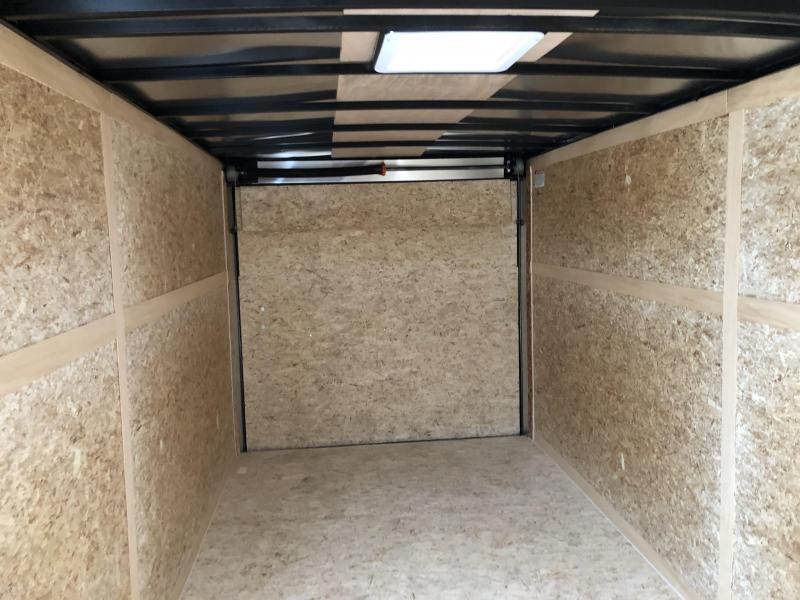 2019 Look Trailers EWLC7X16TE2  (7 X 16) Element Ramp Door V-Nose Cargo / Enclosed Trailer