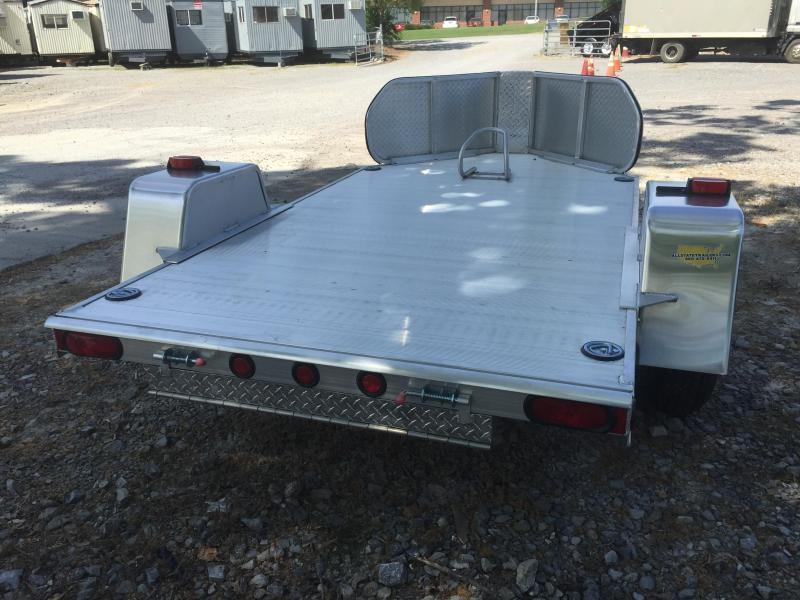 2016 Mission 5 X 8 All ALuminum Motorcycle Trailer