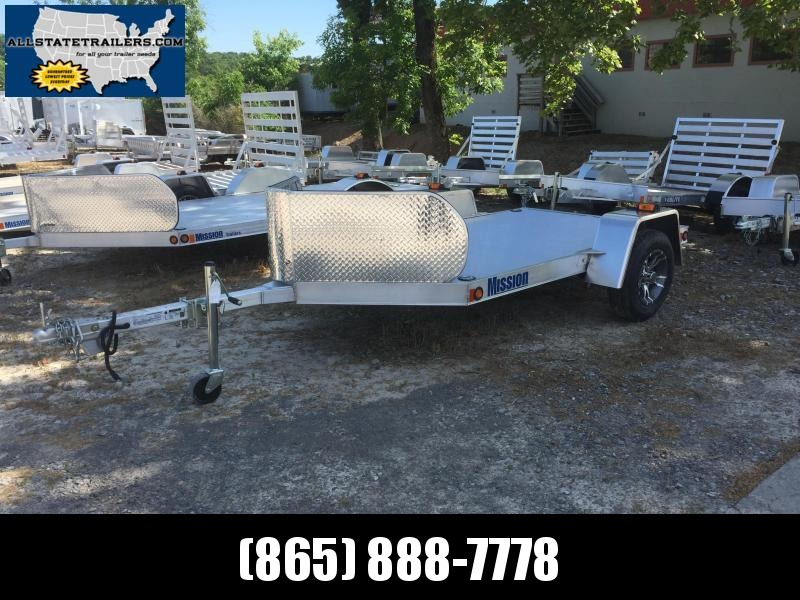 2016 Mission 5 X 8 All ALuminum Motorcycle Trailer in Ashburn, VA