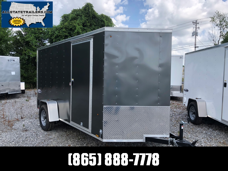 2019 (6 x 12) Look Trailers EWLC6X12SI2 Flat Top Cargo / Enclosed Trailer