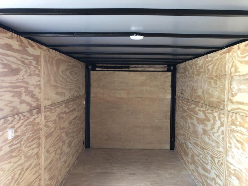 2019 Lark (7 x 16) 7000#GVWR Ramp Door VT716TA Enclosed Cargo Trailer