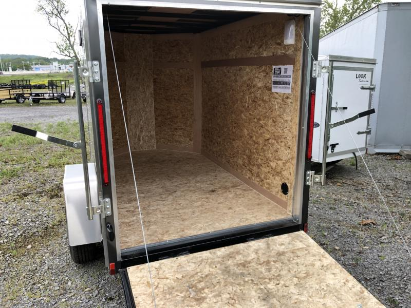 2020 EWLC5X8SI2 (5 X 8) Enclosed Trailer Rear Ramp Door