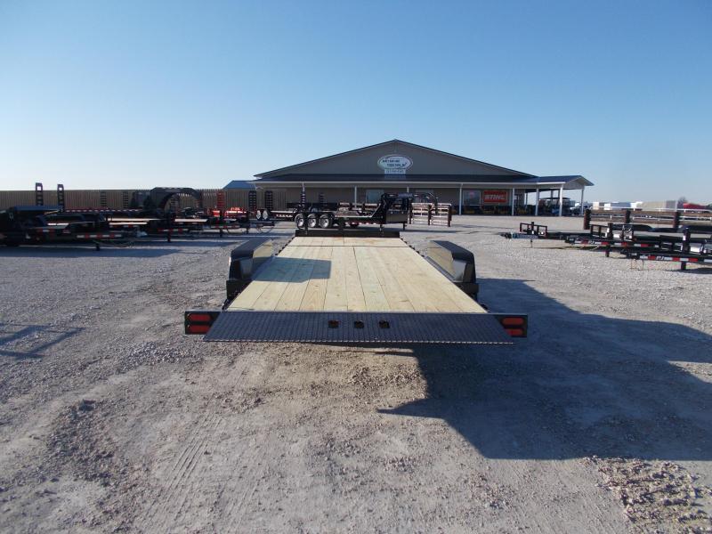 MONSTER 20K LB  B-B 24' Tiltbed 20000 LB GVWR Flatbed Trailer tilt
