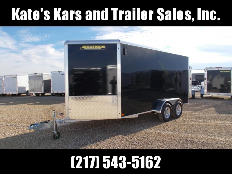 *NEW* Aluma 7x14' Extra Tall Enclosed Aluminum Trailer