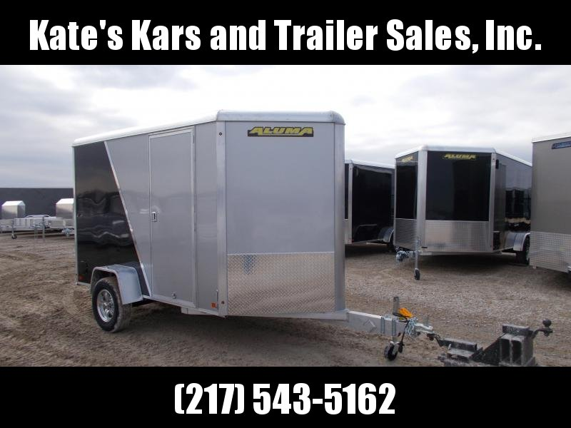 *NEW*  Aluma 6X10' Extra Tall Aluminum Enclosed Cargo Trailer