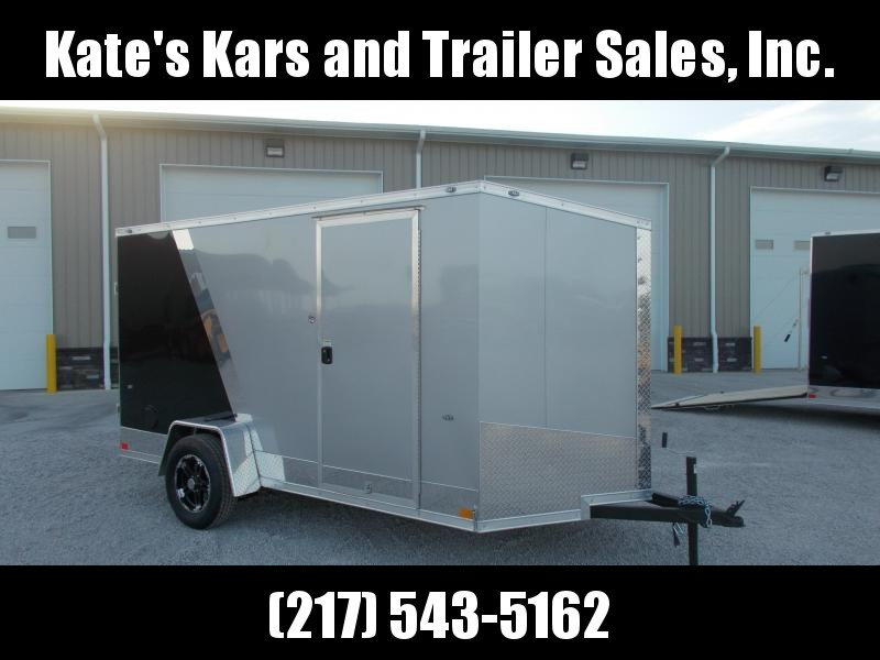 2020 Formula Trailers 6X12 Screwless Sides Two Tone Enclosed Cargo Trailer