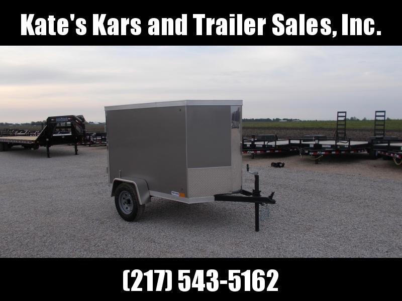 2020 Cross Trailers 4X6 HD Box Trailer Enclosed Cargo Trailer