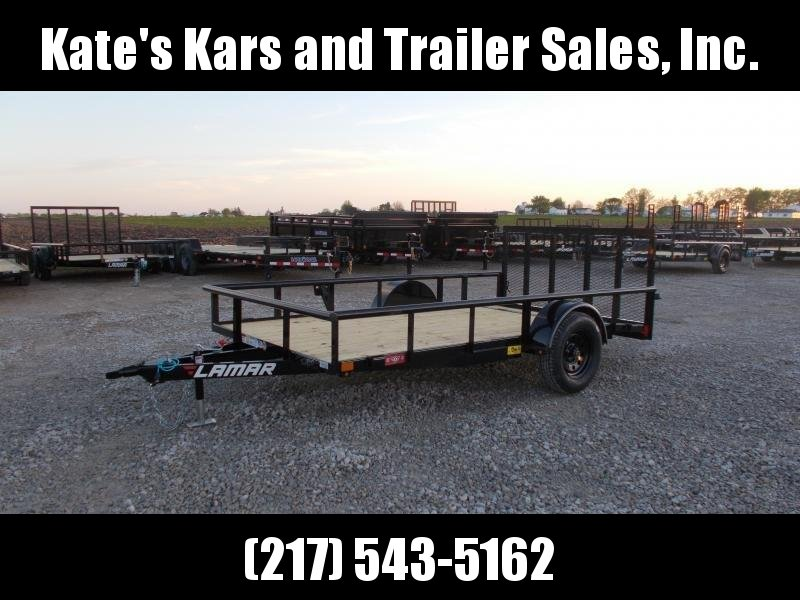 CHECK IT OUT!! Lamar 77X12' PipeTop Utility Trailer ATV Trailer