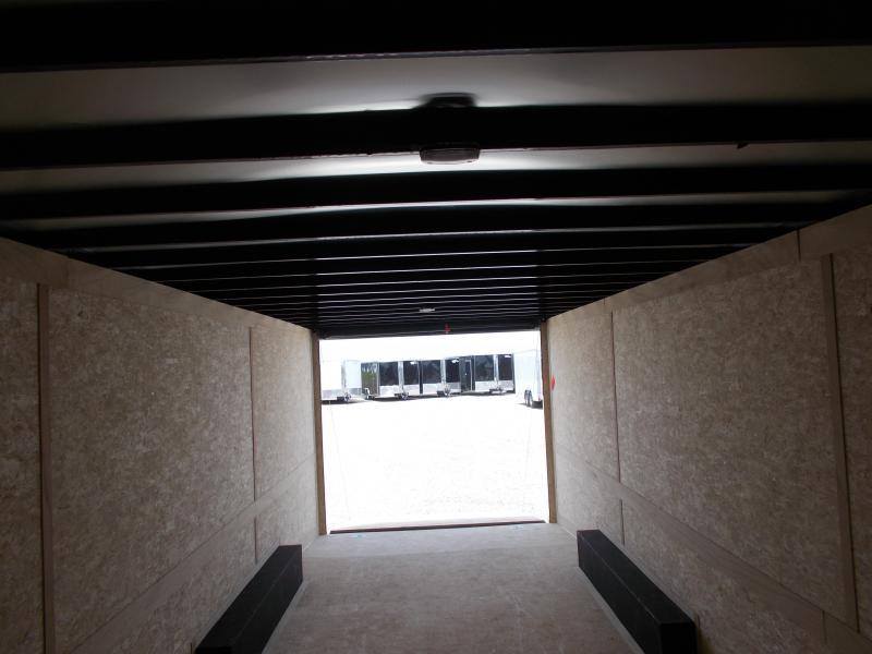 HEAVY DUTY!! Cross 8.5X24' Screwless Sides Enclosed Cargo Car Trailer