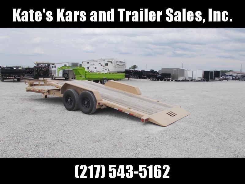 USED Load Trail 22' Tilt  TH8322072 Equipment Trailer 14K LB