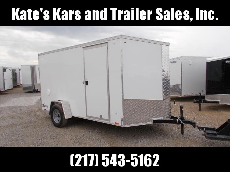 Cargo Express 6x12' Enclosed Trailer Ramp Door V Nose in Ashburn, VA
