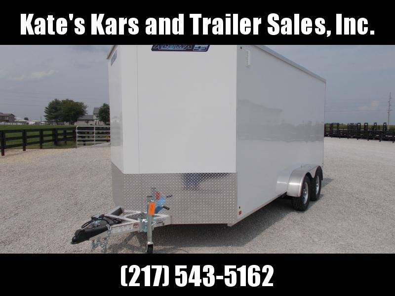 *NEW*  Aluma 7X16' Aluminum Extra Tall  Enclosed Cargo Trailer
