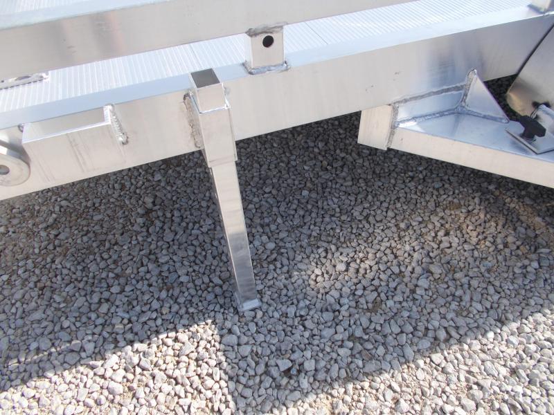 NEW!! Aluma 7814BT Tandem Axle 14' Aluminum Utility Trailer BI Fold Gate