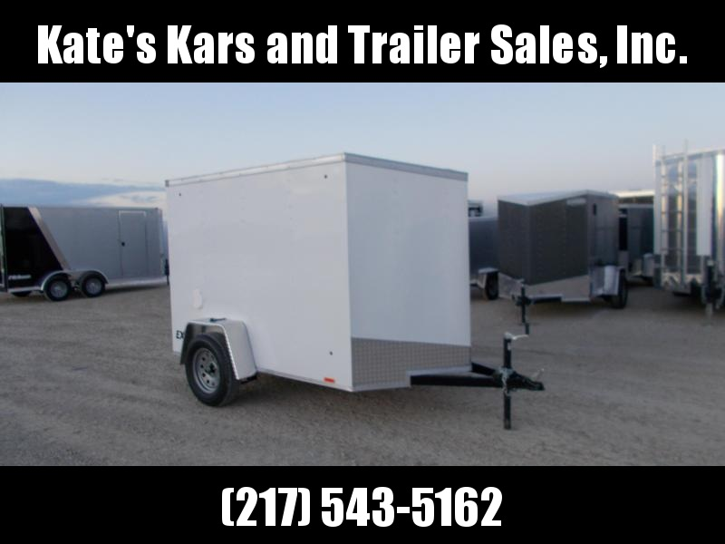 *NEW* 5X8 Enclosed Cargo Trailer Ramp door LED