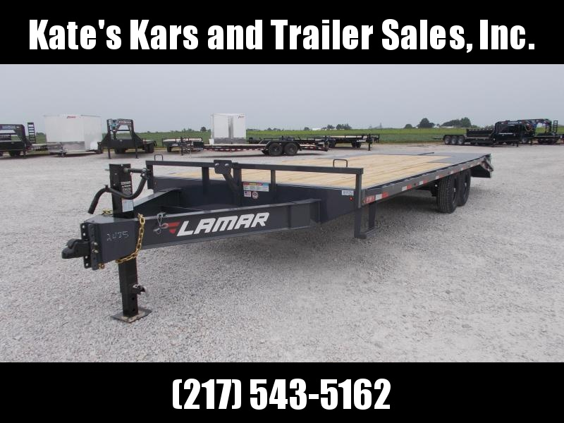 *NEW* Lamar Deckover 102X24' RHINO RAMPS Equipment Trailer