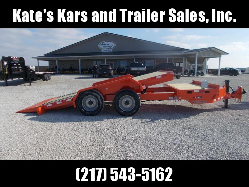 *NEW* 20000 LB Tilt Skidloader Trailer Midsota 83x20' 20K LB Tilt Implement Flatbed Trailer in Ashburn, VA