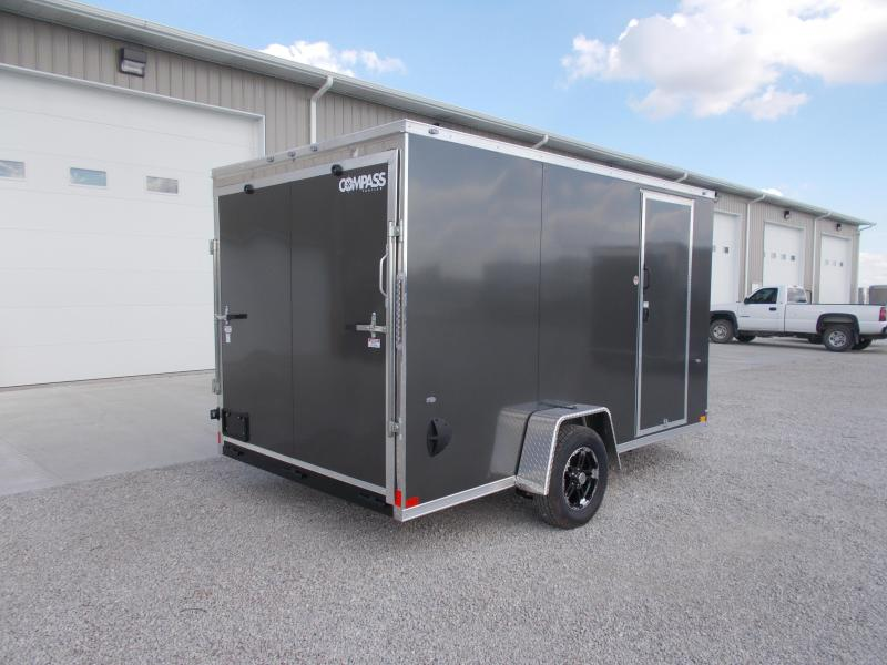 "*NEW* Formula Trailers 7X12' Single Axle 6"" Extra Tall Enclosed Cargo Trailer"