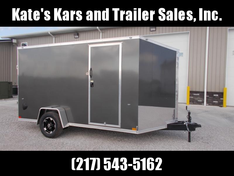 "*NEW* Formula Trailers 7X12' Single Axle 6"" Extra Tall Enclosed Cargo Trailer"