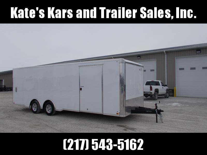 *NEW* Cross 8.5X24 DECKED out Enclosed Trailer