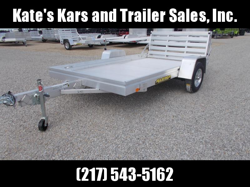 WE have the Largest Selection!! Aluma 6810BT Aluminum Bi-fold tailgate Utility Trailer 10'