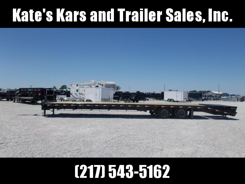 AIR RIDE!! PJ Trailers 102X40'  Hotshot Flatbed Trailer 25900 LB GVWR