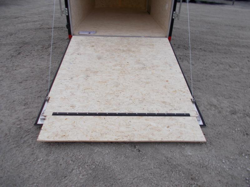 ALUMINUM!!! Extra Tall Pace 6x12'  Enclosed Cargo Trailer For Sale
