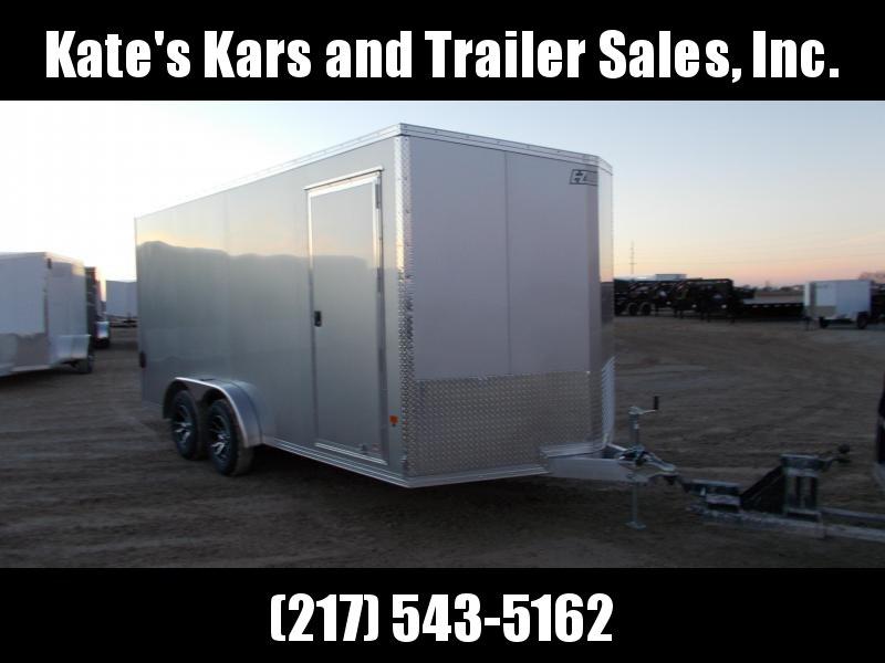 *NEW* EZ Hauler 7.5X16' Aluminum Cargo Enclosed Trailer Extra Tall