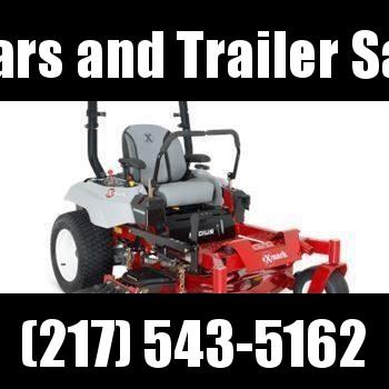 "LEFT OVER 2018 Exmark Radius E-Series 52"" zero turn lawn mower for sale in Illinois"