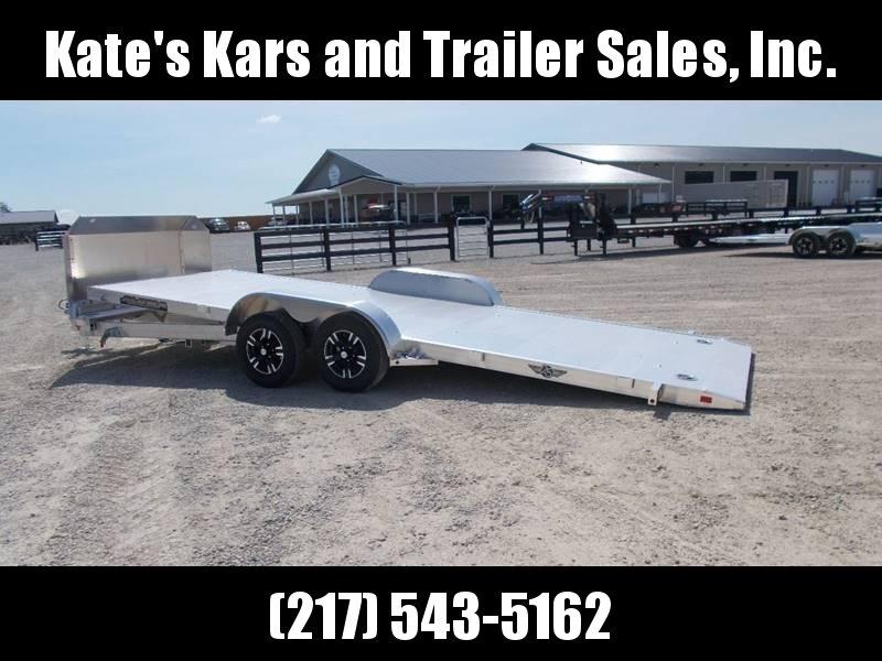 *NEW* Aluma 8220Tilt anniversary Aluminum car hauler trailer