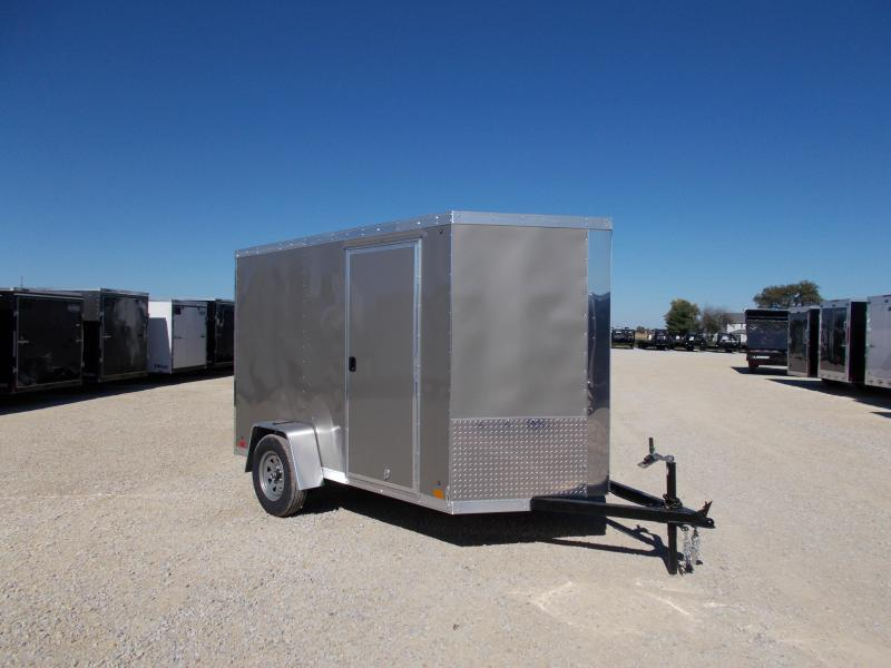 *NEW* Cross 6X10' Enclosed Cargo Trailer HD