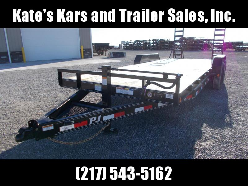 *NEW* PJ Trailers 22' Flatbed Equipment Trailer 14K LB Flatbed Trailer