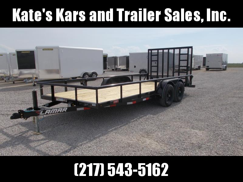 *NEW* Lamar Trailers 83X18' HD Commercial Landscape Utility Trailer