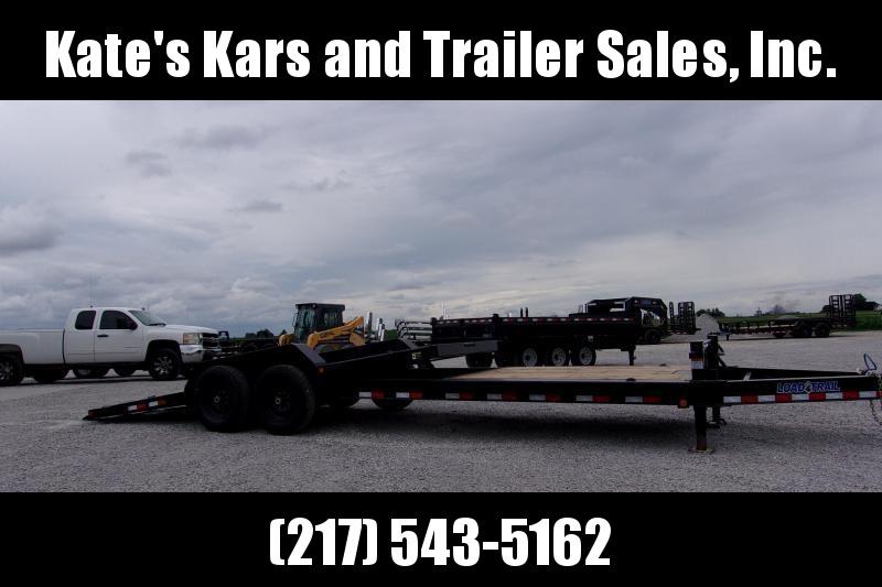 *NEW* Load Trail 83X24 Tiltbed Heavy Duty Equipment Trailer Partial Tilt