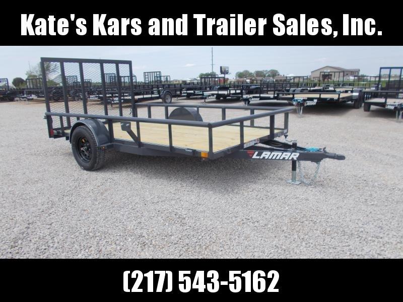 NEW** Lamar Trailer UT771213 12' ATV Utility Trailer