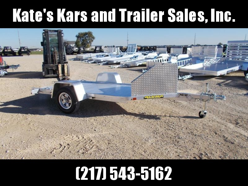 *NEW Aluma MC10 Aluminum Motorcycle trailer
