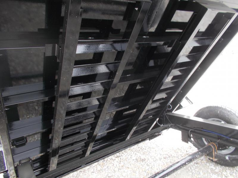 AWESOME DEAL!! Load Trail 83x14' Dump Trailer w/ tarp 14K LB
