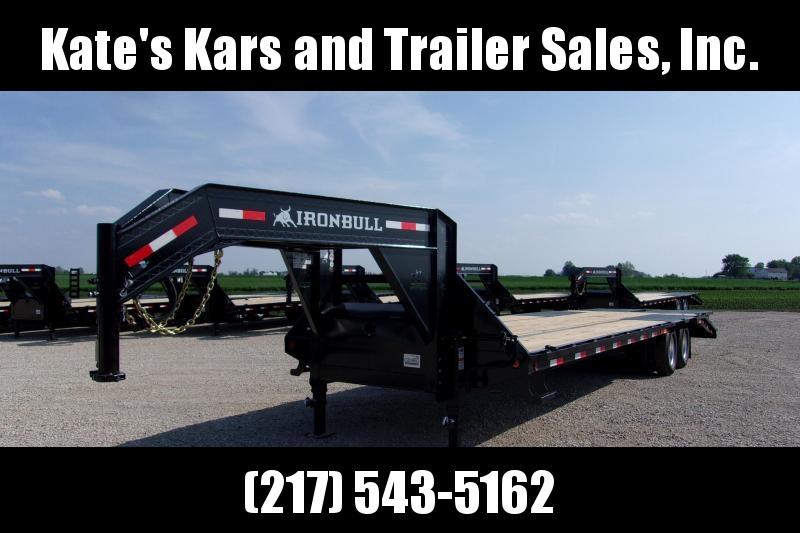 LEFT OVER MUST GO!!!! Iron Bull 102X32' Tandem Dual Gooseneck Equipment Trailer in Ashburn, VA