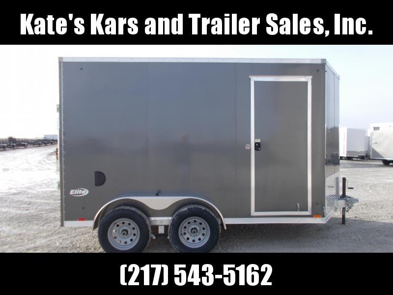 2020 Pace American 7X12' Tandem axle ALUMINUM Trailer Enclosed Cargo Trailer