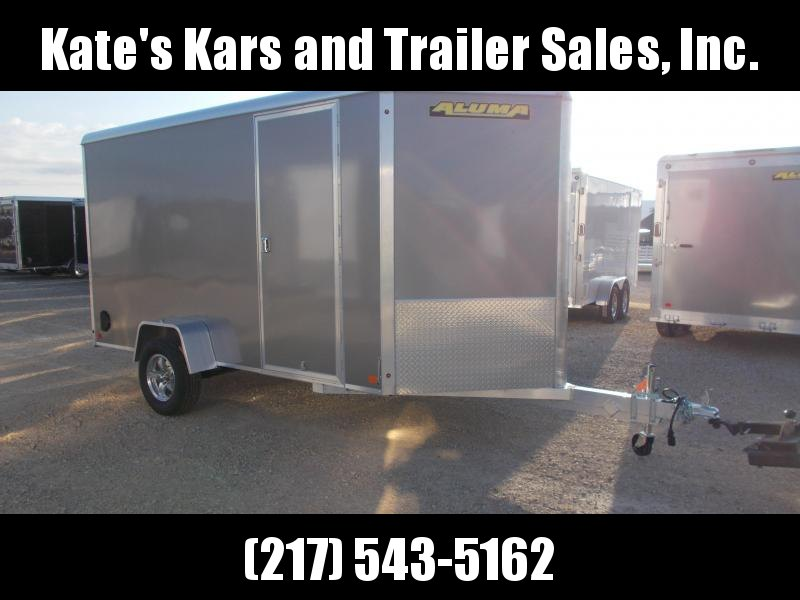 *NEW* Aluma 6X12' Extra Tall Aluminum Trailer Enclosed Cargo