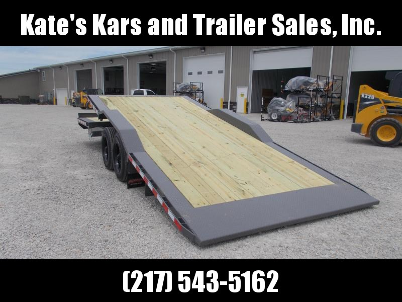 *NEW* Midsota 102X24' 16000 LB GVWR TBWB Tilt Equipment Trailer