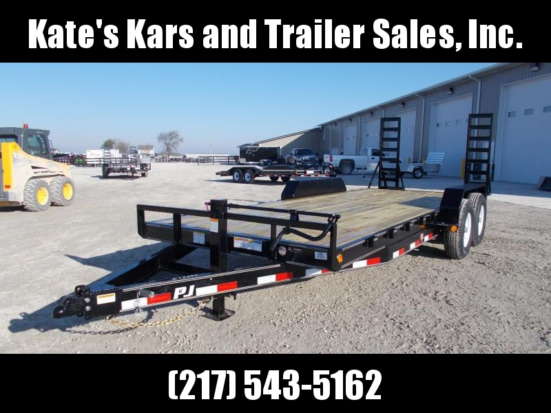 *NEW* PJ Trailers 83x20' 14K Flatbed Trailer Equipment Hauler
