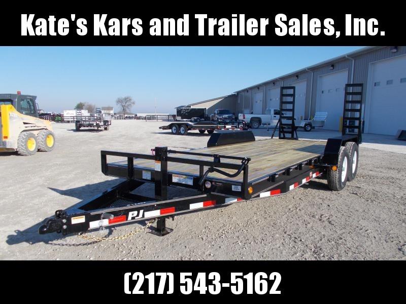 *NEW* PJ Trailers 83x20' 14K Flatbed Trailer Equipment Hauler in Ashburn, VA