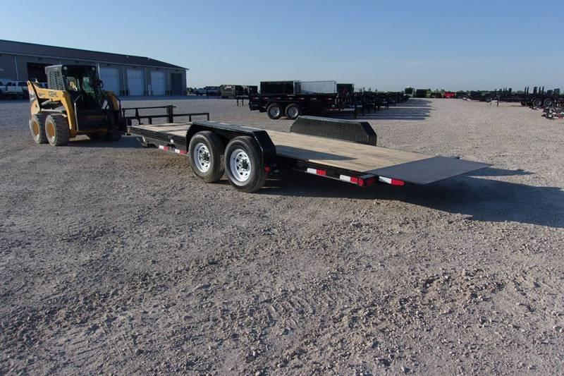 *DISCOUNTED* PJ 20' Tilt Trailer 14K LB 16+4 Partial Tilt