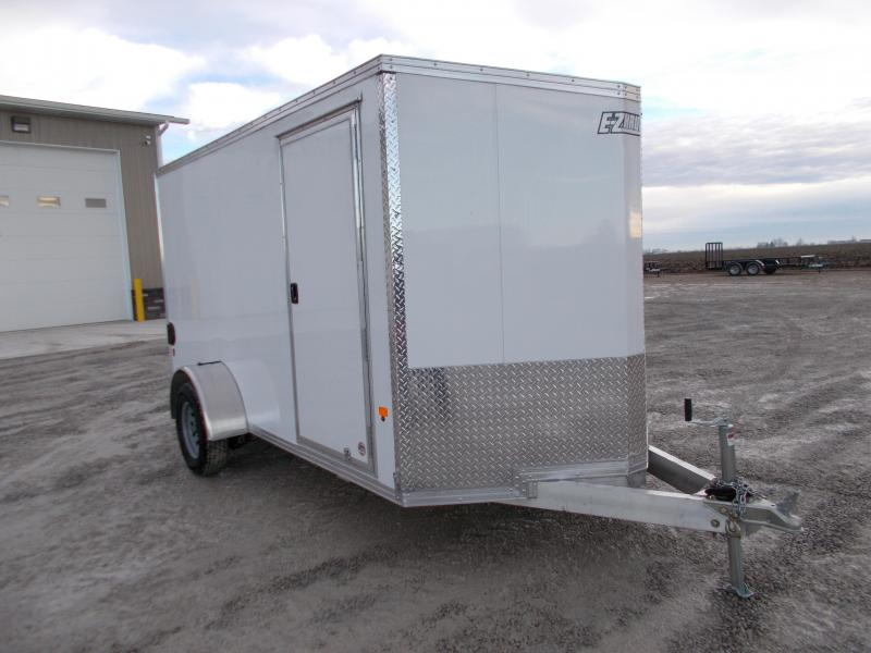 *NEW* EZ Hauler 6X12 Aluminum Enclosed Trailer