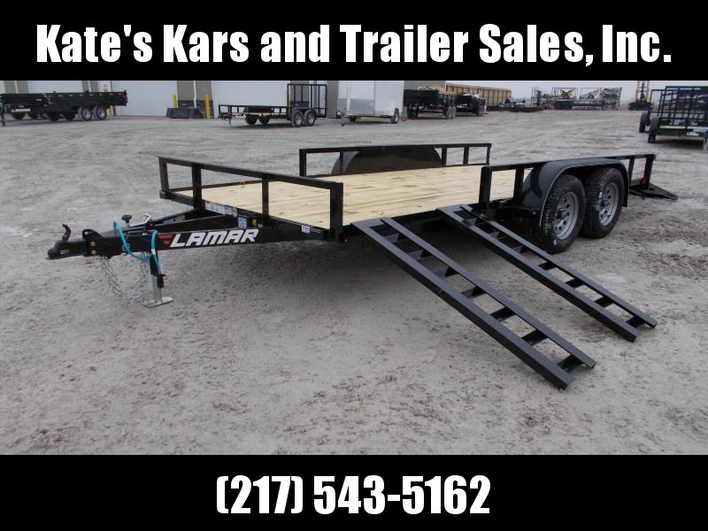 *NEW* Lamar 83X16' ATV Side Load Utility Trailer