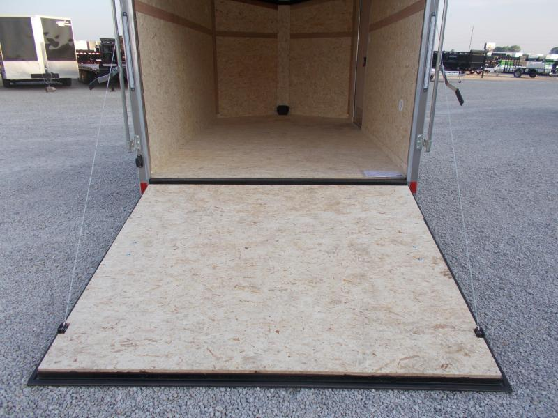 2020 Pace American 7X12 Single Axle Screwless Sides Enclosed Cargo Trailer