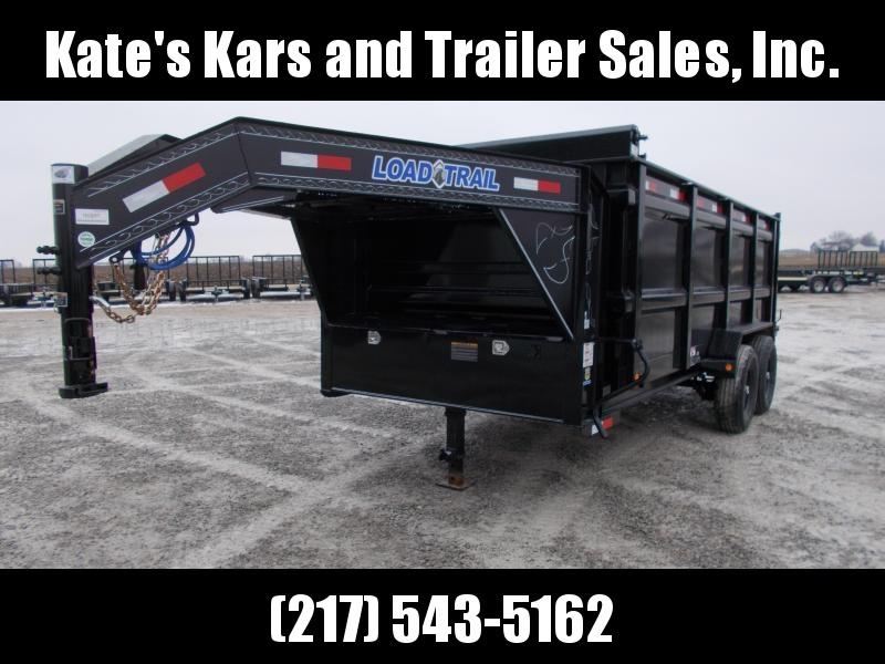 "*NEW* 83""X16' Load Trail Gooseneck Tall Sided Dump Trailer 14000 LB GVWR"