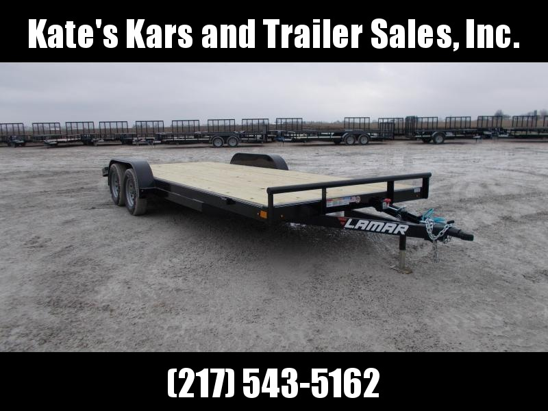 **NEW** 2019 Lamar 20' Flatbed Car Trailer Racing Trailer