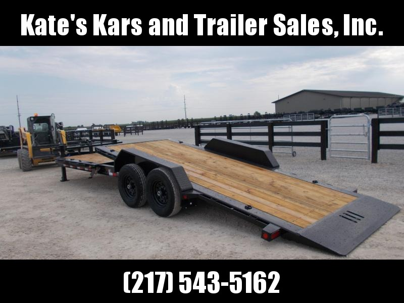 *NEW* Load Trail 83X24' Tilt Bobcat Trailer 14K LB TH8324072