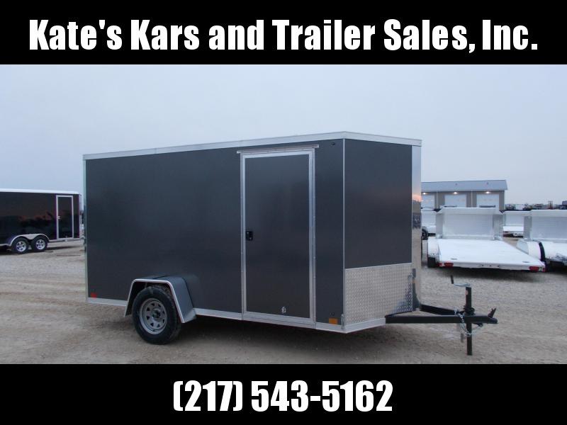 *NEW* SCREWLESS SIDES Cross 6x12' Enclosed Cargo Trailer HD in Ashburn, VA